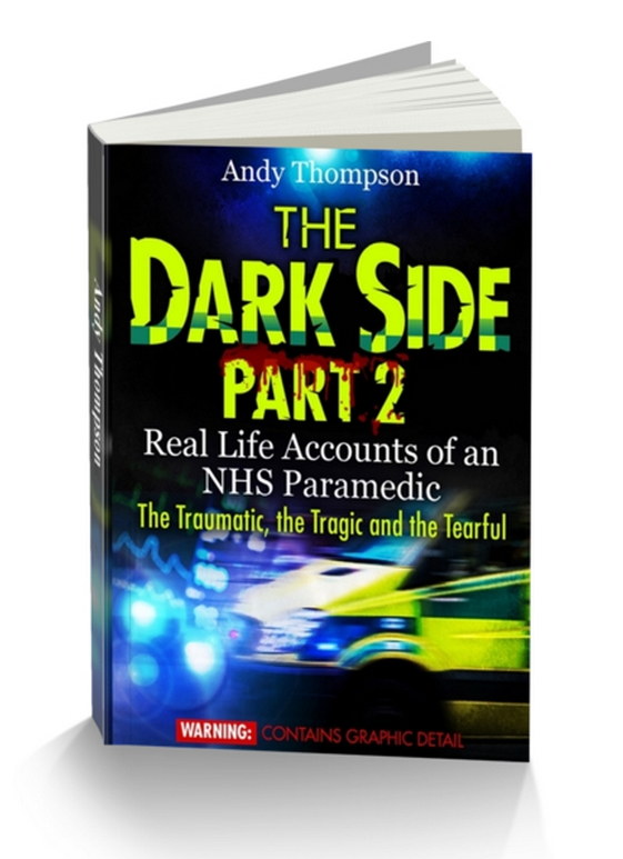 The Dark Side paramedic book in paperback